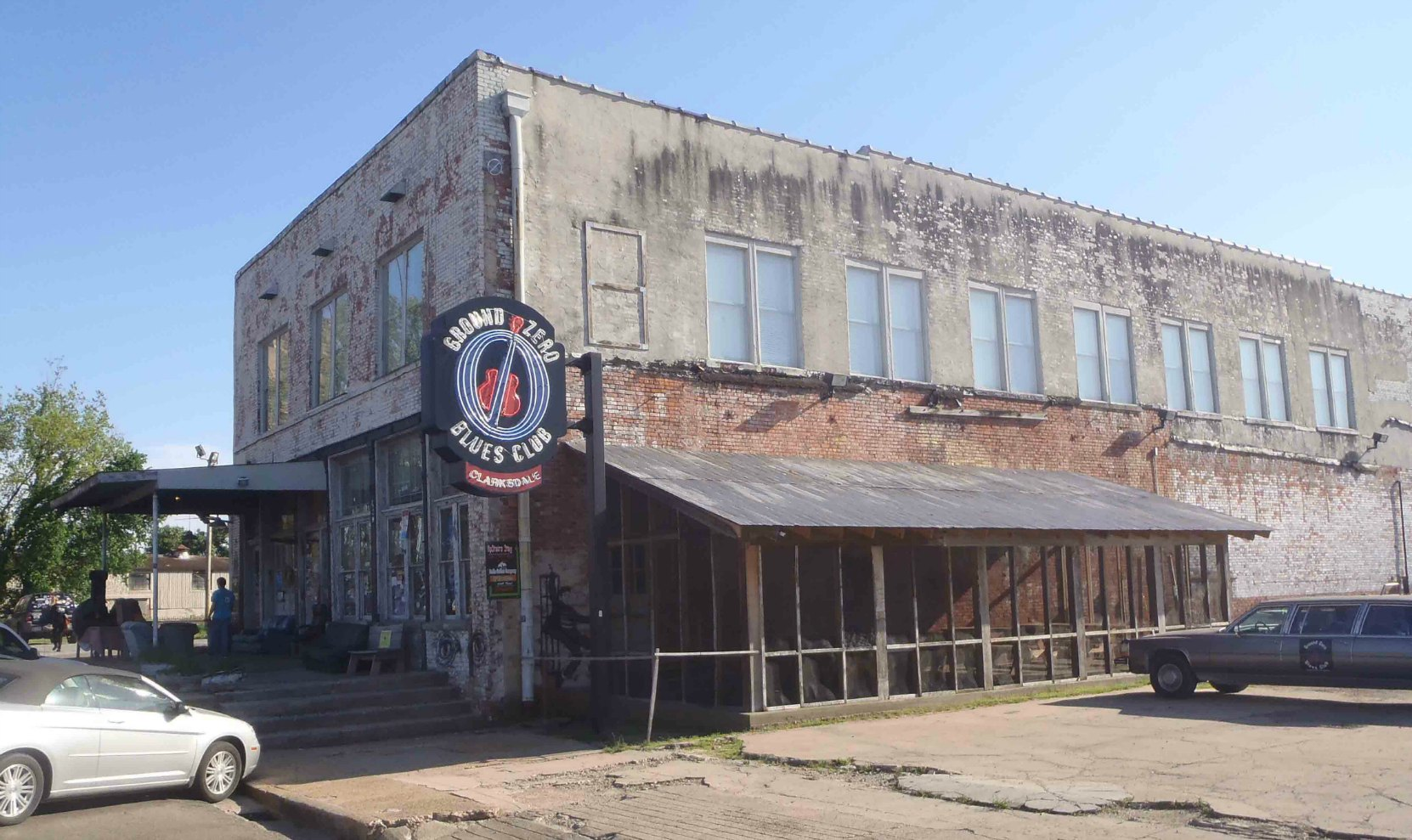Ground Zero Blues Club, next door to Delta Blues Museum, Clarksdale, Mississippi