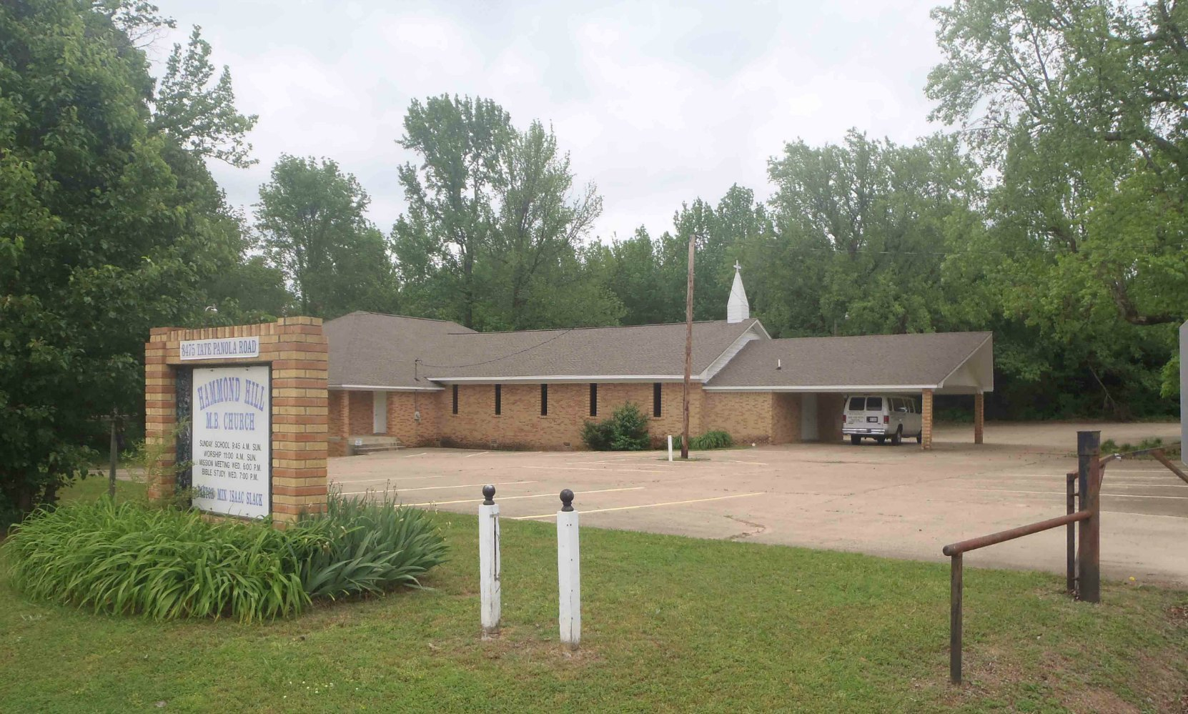 Hammond Hill Missionary Baptist Church, Como, Mississippi