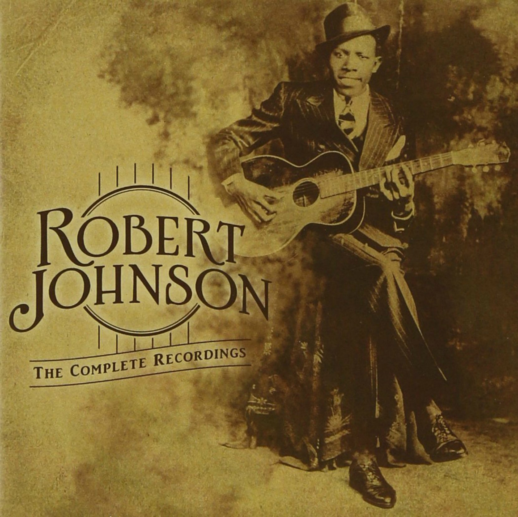 CD cover for Robert Johnson The Complete Recordings - Centennial Edition