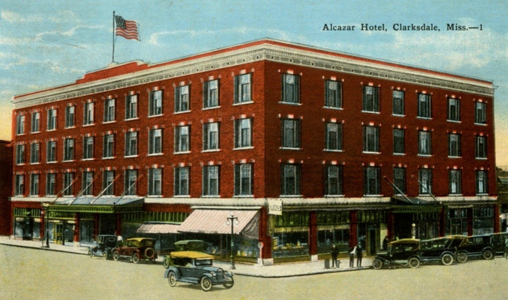 Alcazar Hotel, Clarksdale, Mississippi, circa 1920