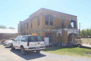 Old Jail House, Belzoni, Mississippi, Charlie Patton was incarcerated here, circa 1933.