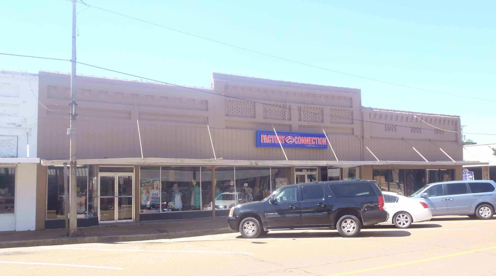 The former Turner Drug Store, Belzoni, Mississippi
