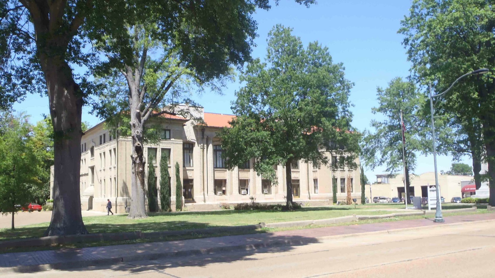 The Bolivar County Courthouse now stands on the site of W.C. Handy's Enlightenment About The Blues