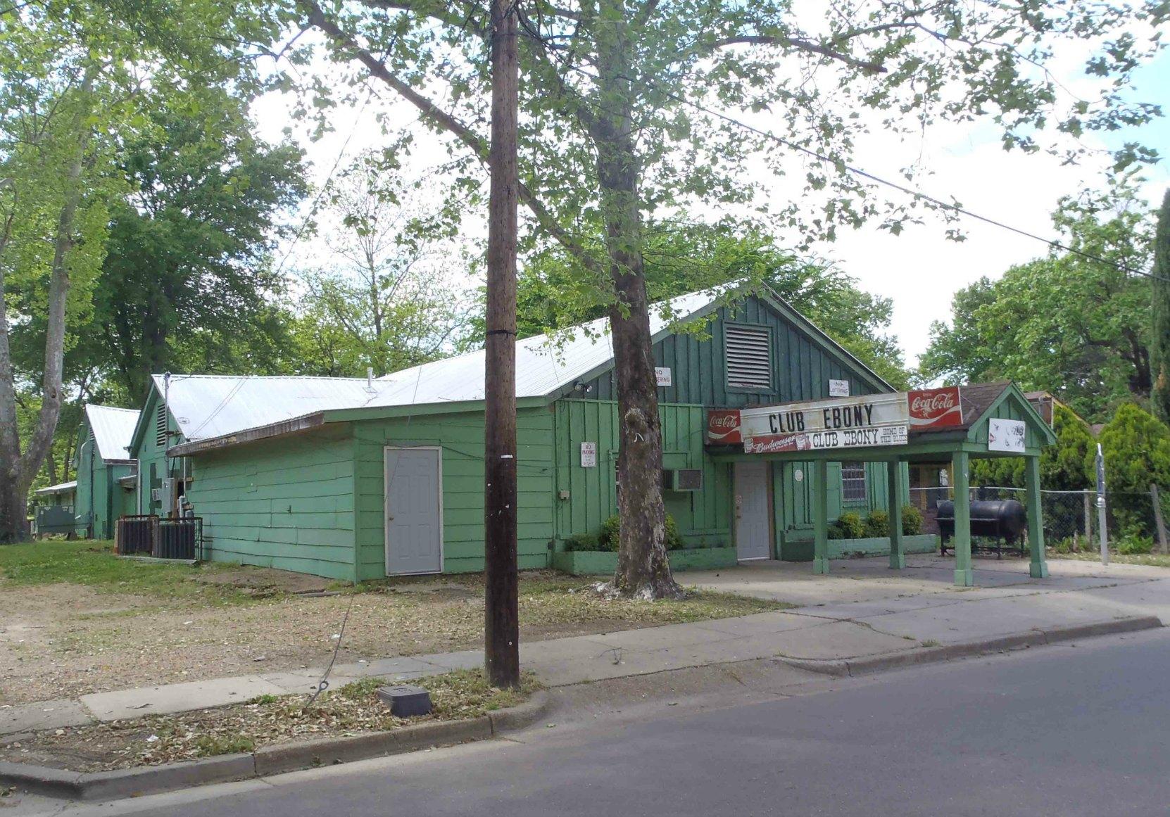Club Ebony, 404 Hannah Street, Indianola, Mississippi