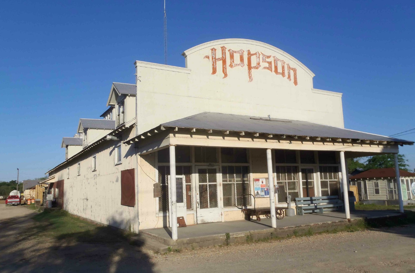 Commissary Building, Hopson Farm, Highway 49, Coahoma County, Mississippi.