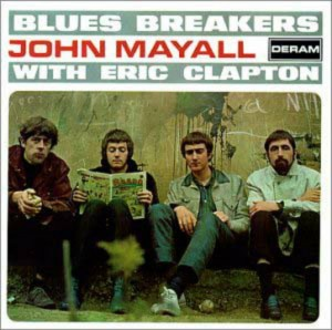 CD cover, Blues Breakers With Eric Clapton by John Mayall