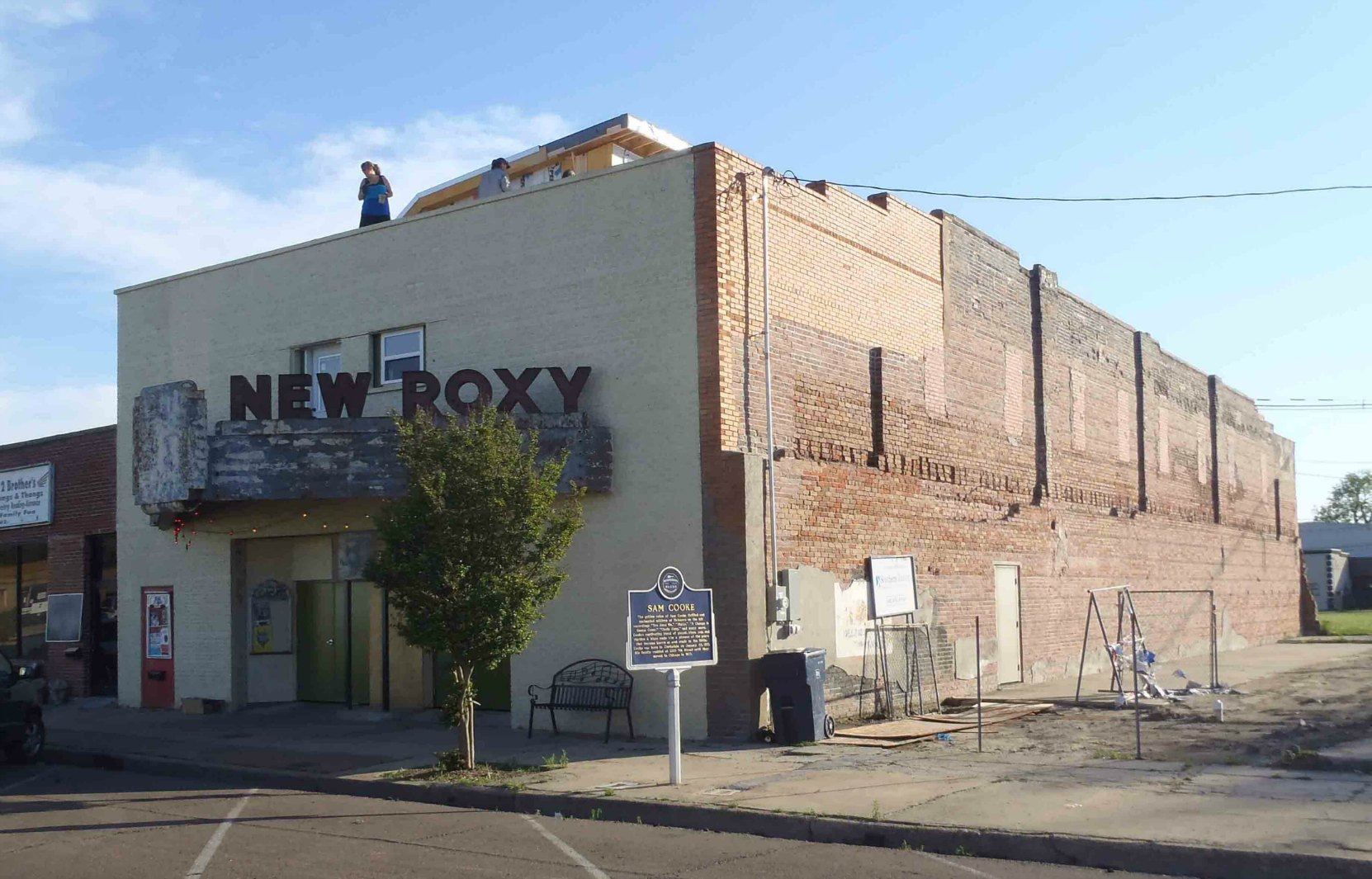 The New Roxy Theatre, Clarksdale, Mississippi