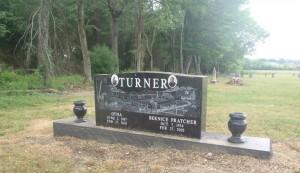 Otha Turner grave, Como, Mississippi