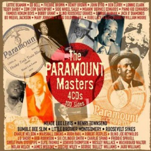 CD cover. The Paramount Masters, on JSP Records