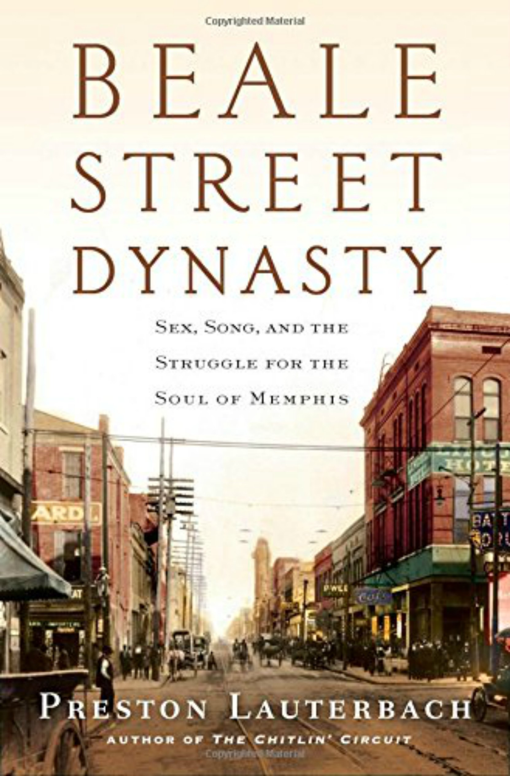 Book cover, Beale Street Dynasty by Preston Lauterbach