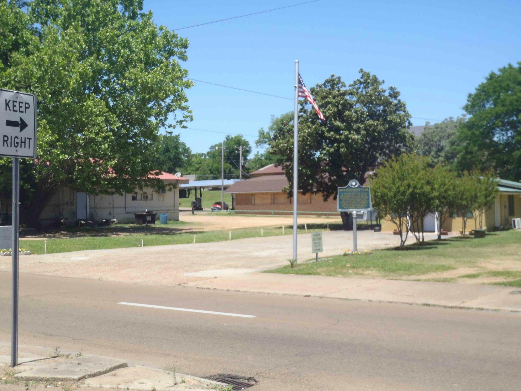 Site of the Rhythm Night Club Fire, Natchez, Mississippi