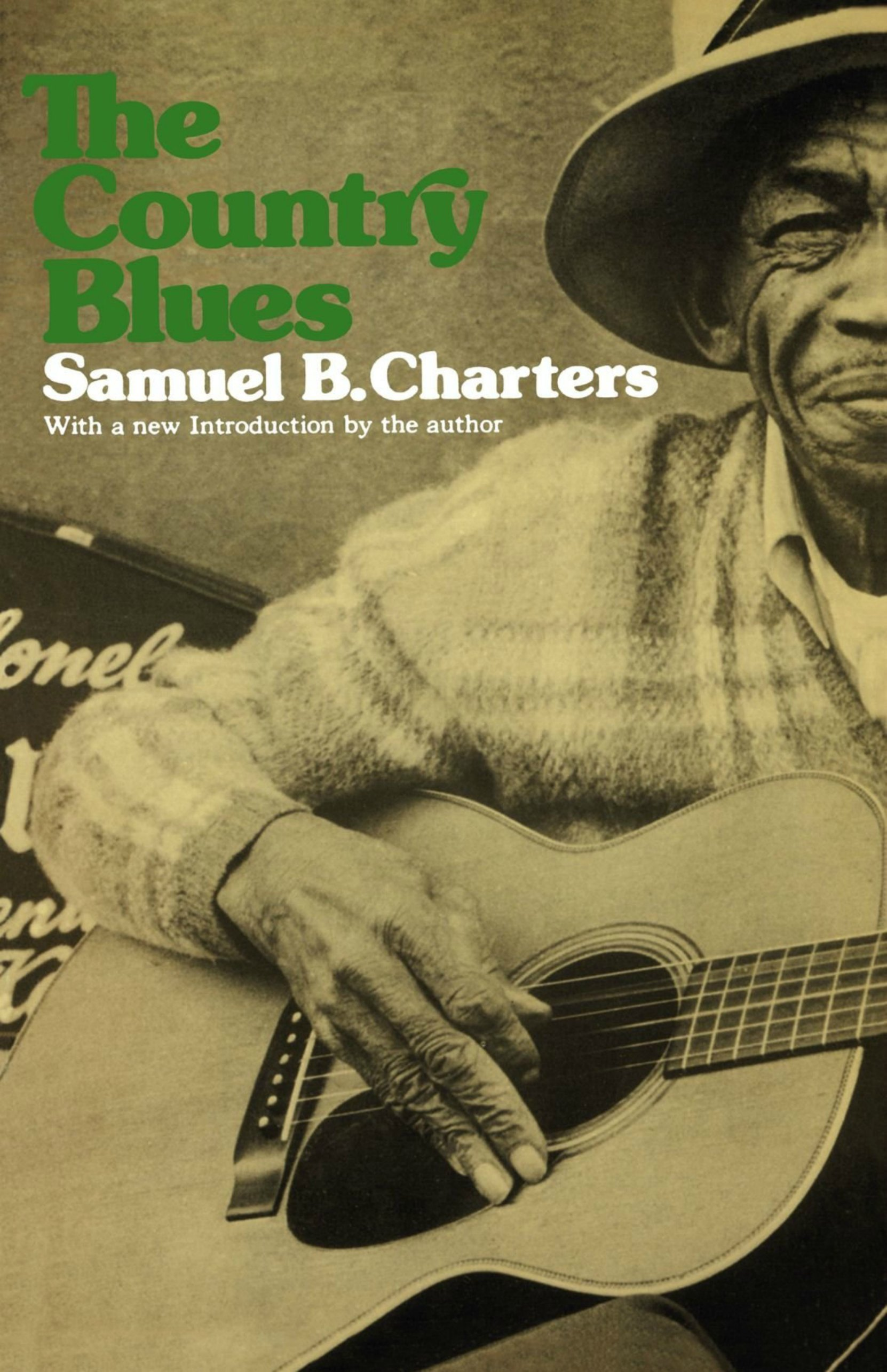 Book cover, The Country Blues by Samuel B. Charters