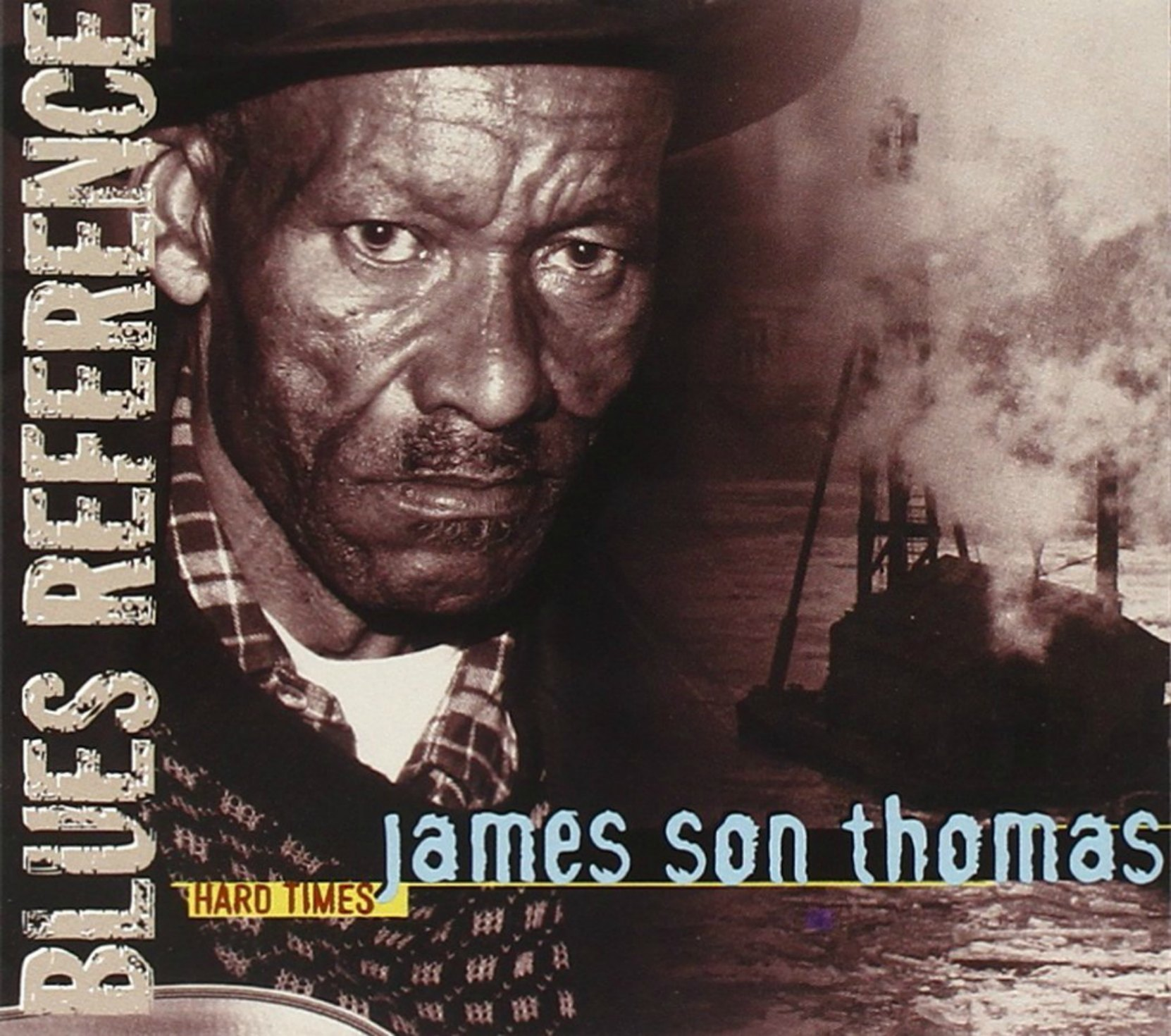 "CD cover, James ""Son"" Thomas, Hard Times, recorded in 1986"