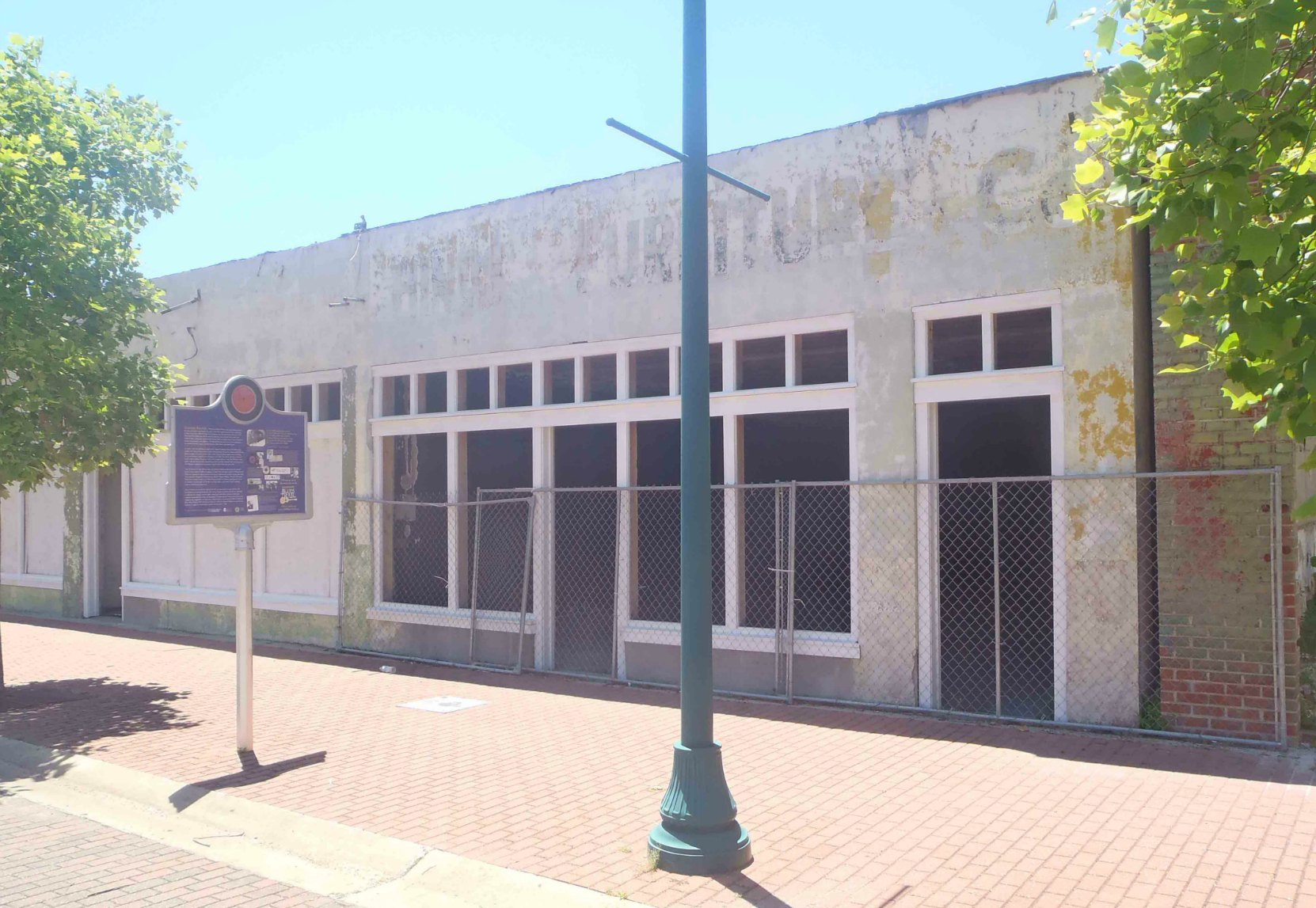 The former location of Trumpet Records, Farish Street, Jackson, Mississippi
