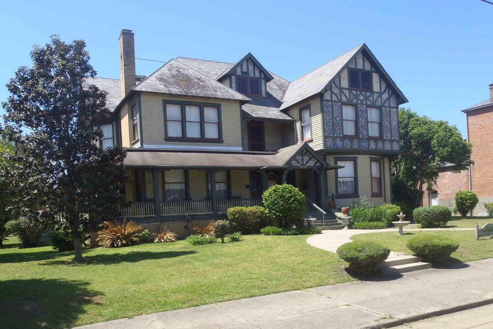 Bernheimer House, Port Gibson, Mississippi