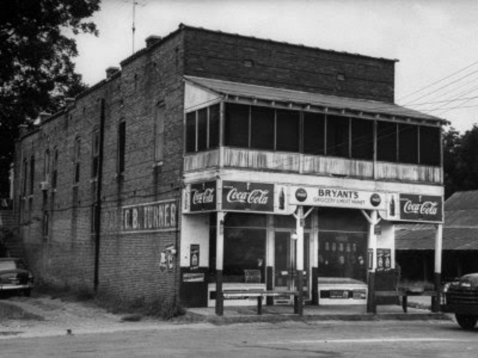 Bryant's Grocery in the 1950's