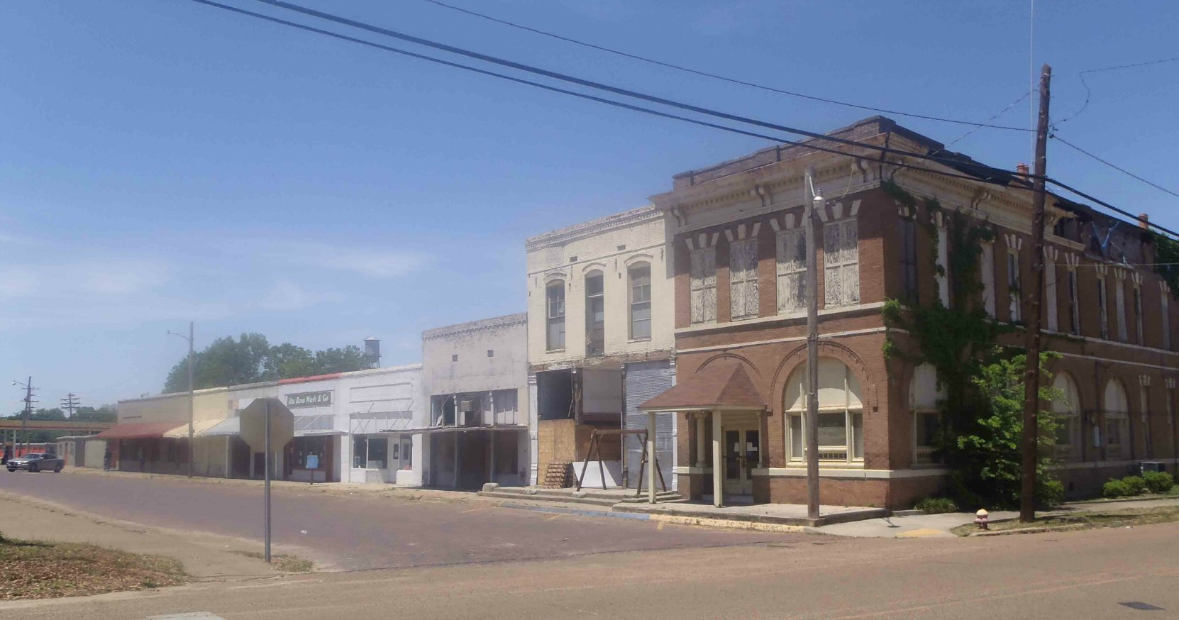 City Hall, Humphreys Street, Itta Bena, Leflore County, Mississippi