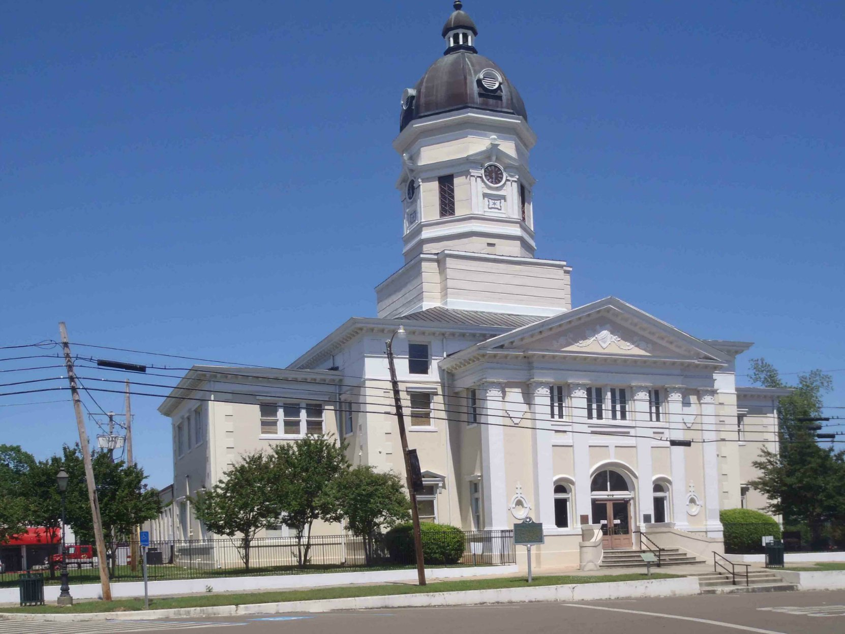 Claiborne County Courthouse, Port Gibson, Mississippi