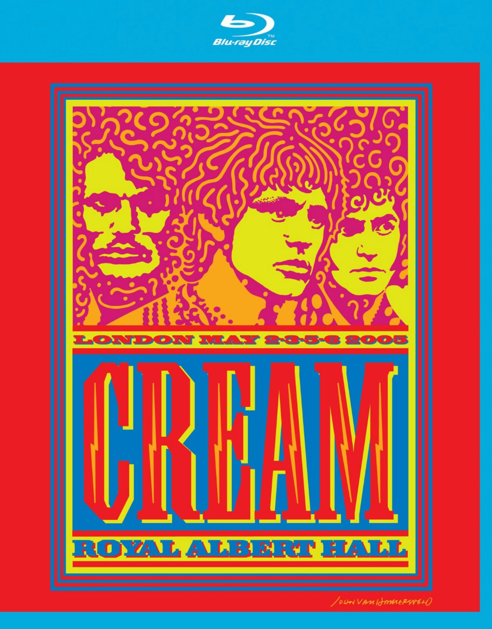 Cream, Live at the Royal Albert Hall 2005 - Blu-ray cover