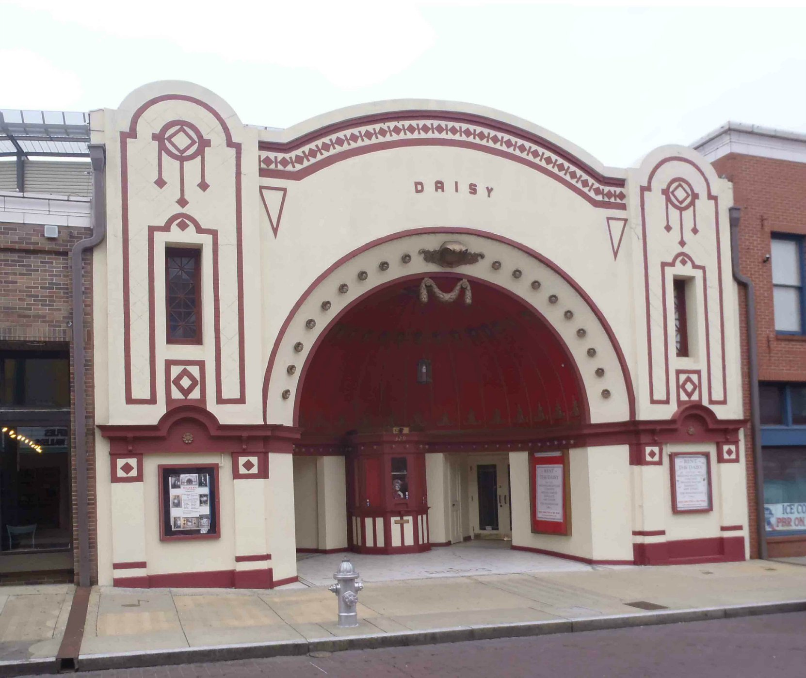 The Daisy Theatre, 329 Beale Street, Memphis, Tennessee