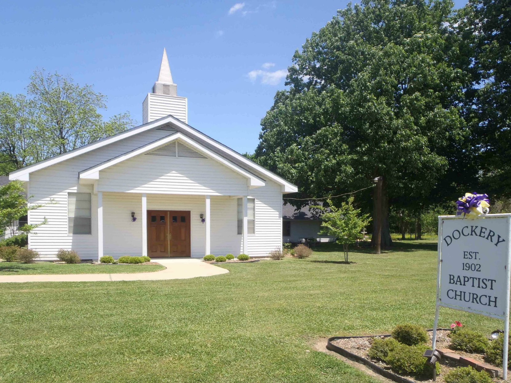 The Dockery Baptist Church, Dockery Farms, Highway 8, Sunflower County, Mississippi