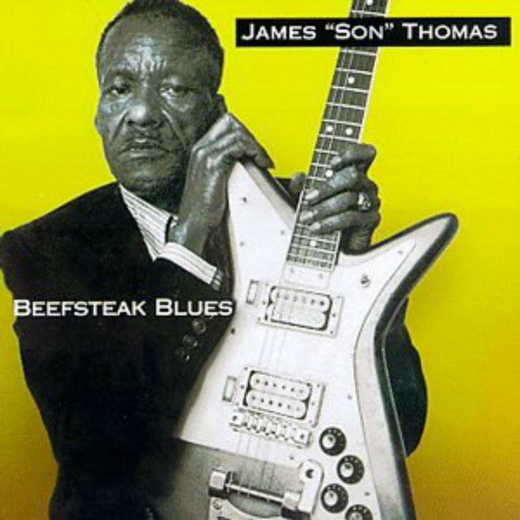 "CD Cover, Beefsteak Blues by James ""Son"" Thomas, released in 1998."
