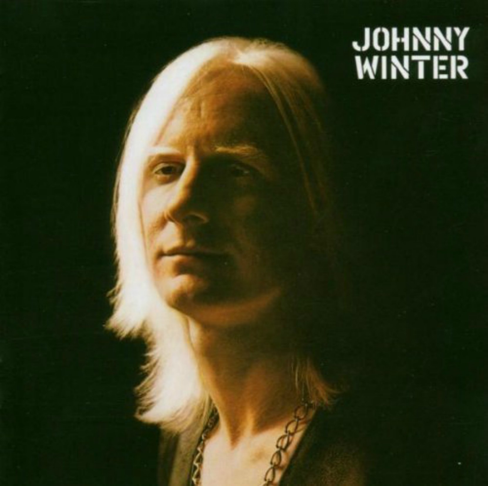 Album cover, Johnny Winter, released on Columbia Records in 1970.