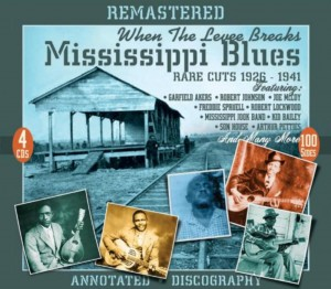 Mississippi Blues, Rare Cuts 1926-1941, When The Levee Breaks, on JSP Records. CD cover.