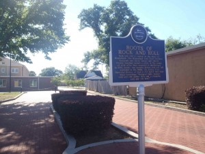Mississippi Blues Trail marker, The Roots Of Rock And Roll, Hattiesburg, Mississippi