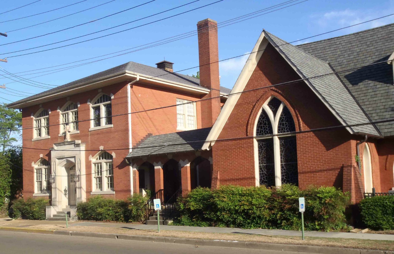 The Rectory of St. George's Episcopal Church, Clarksdale, Mississippi. Tennessee Williams' grandfather lived here when he was Rector of this church.