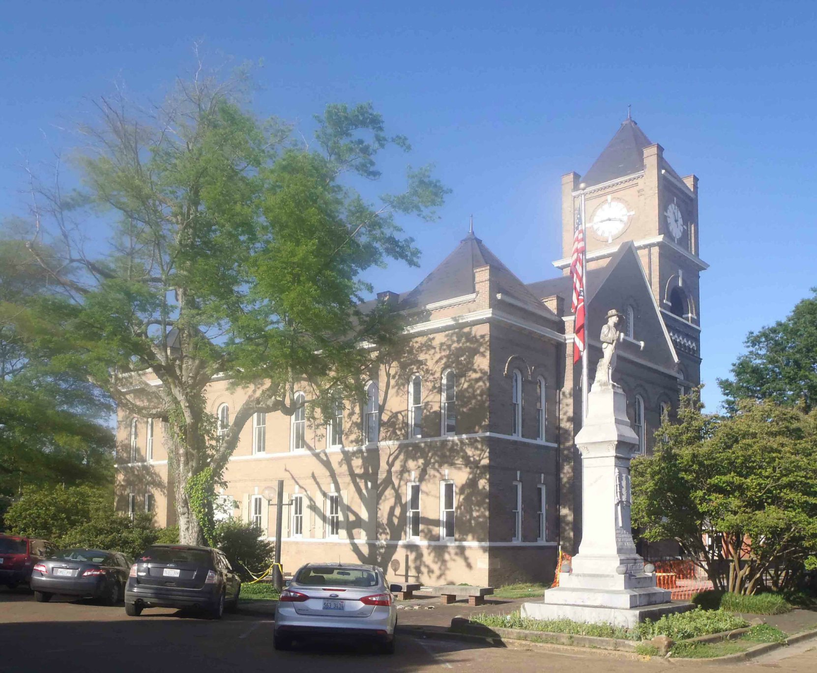 The Tallahatchie County Court House, Sumner, Mississippi