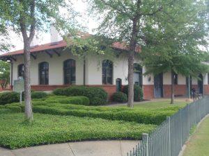 The old Rail Depot, Meridian, Mississippi