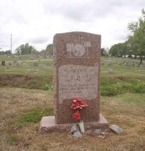 Al Jackson Jr. grave, New Park Cemetery, Memphis, Tennessee