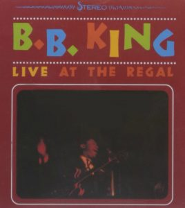 CD cover, Live At The Regal by B.B. King