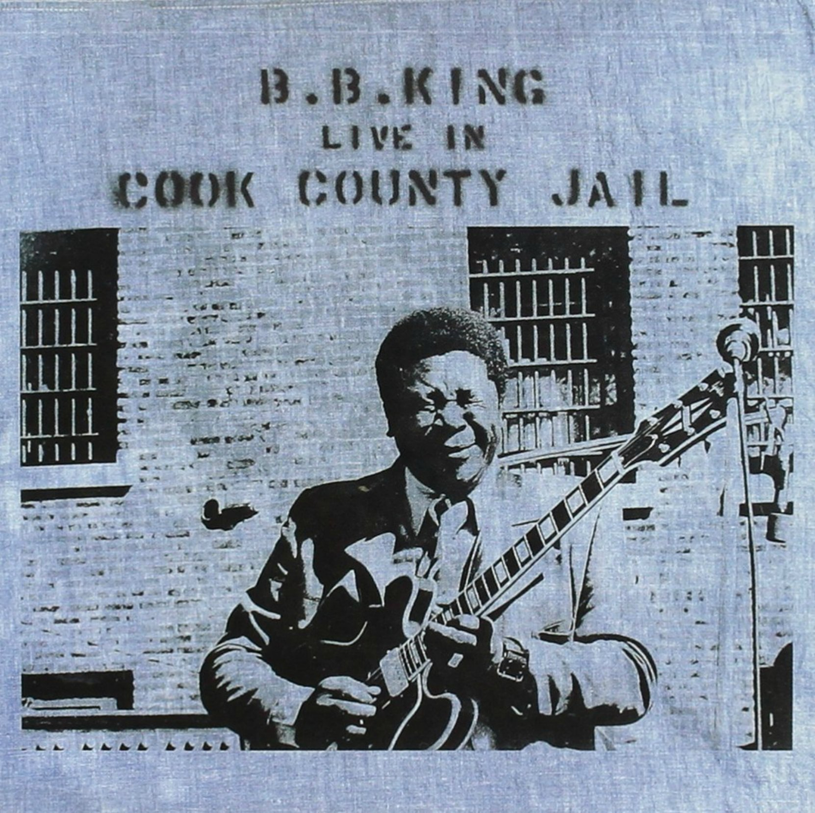 CD cover, Live In Cook County Jail by B.B. King