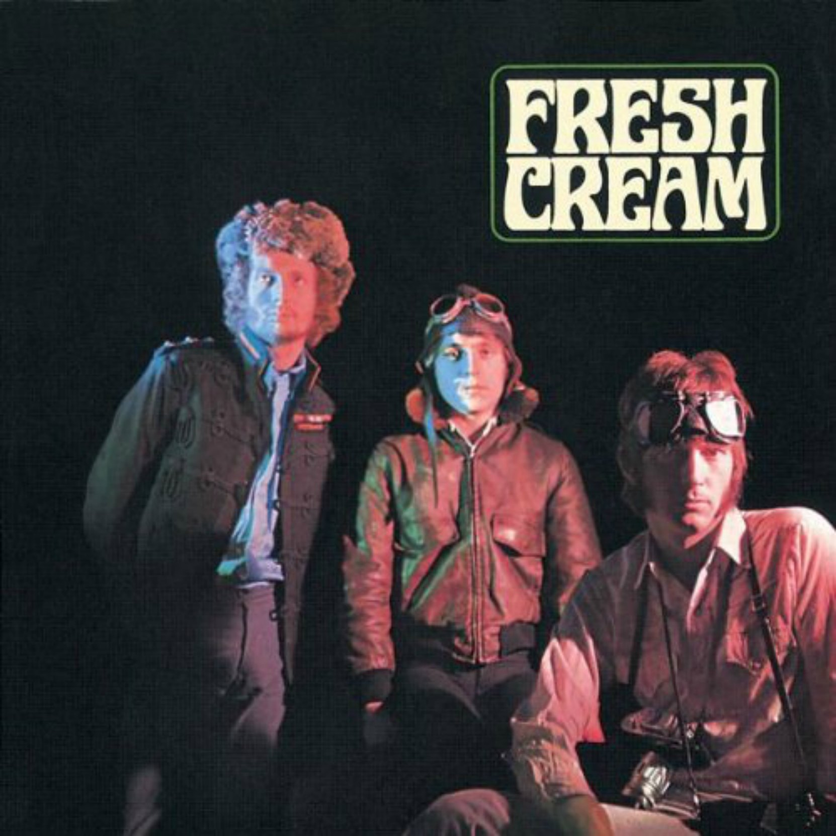 Album cover, Fresh Cream by Cream, originally released in December 1966.
