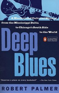 Book cover, Deep Blues, by Robert Palmer
