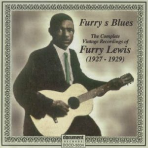 CD cover, Furry's Blues - The Complete Vintage Recordings of Furry Lewis 1927-1929, on Document Records.