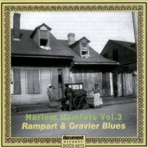 CD cover, Harlem Hamfats - Volume 3, on Document Records.