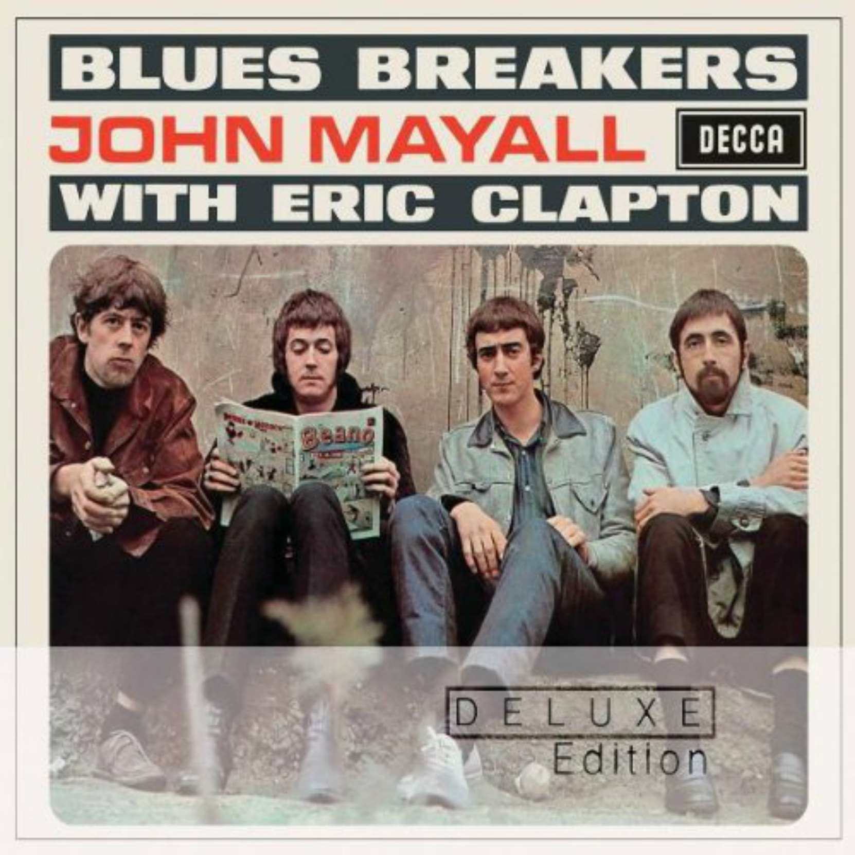 CD Cover, Blues Breakers With Eric Clapton by John Mayall, Deluxe edition