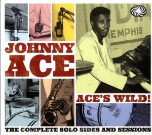 CD cover, Aces Wild! The Complete Solo Sides and Sessions by Johnny Ace.