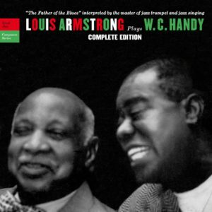 CD cover, Louis Armstrong Plays W.C. Handy, Complete Edition. 2 CD set