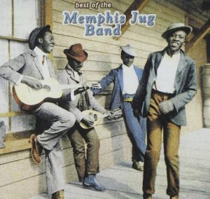 CD cover, Best of Memphis Jug Band, a selection of Memphis Jug Band recordings, released by Yazoo Records.