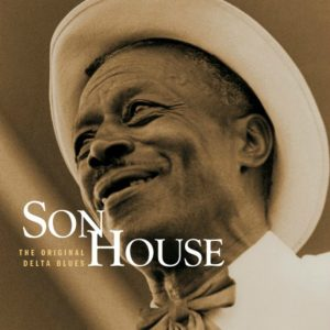 CD cover, Mojo Working: The Original Delta Blues, by Son House, from the 1965 Columbia Records sessions