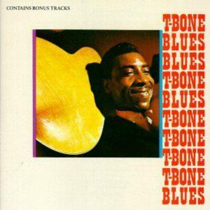 CD cover, T-Bone Blues, by T-Bone Walker, on Atlantic Records