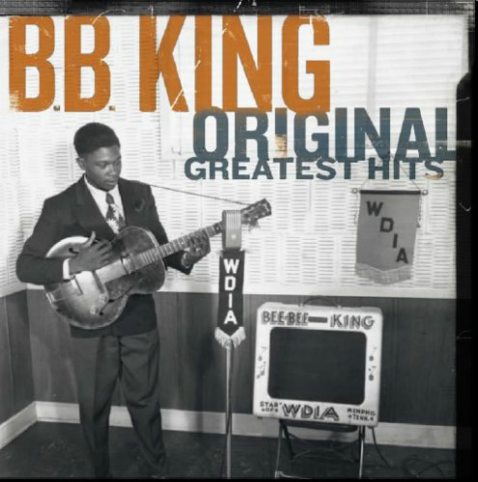 CD cover, Original Greatest Hits by B.B. King