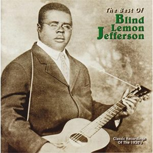 CD cover, The Best of Blind Lemon Jefferson, released on Yazoo Records