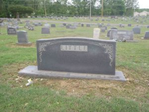Booker T. Little grave, New Park Cemetery, Memphis, Tennessee,