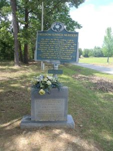 Mississippi Blues Trail marker for Freedom Summer Murders, Neshoba County, Mississippi