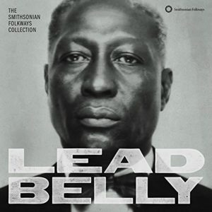 CD cover, The Smithsonian Folkways Collection, by Leadbelly. Released on Smithsonian Folkways